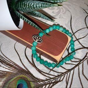 Handmade Semiprecious Talisman Bracelet